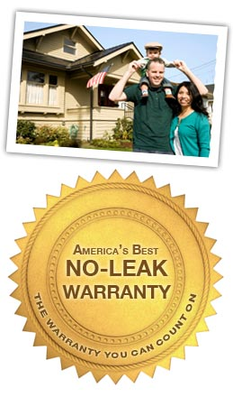no leak warranty